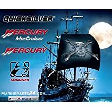 Mercury/Quicksilver Parts Crankcase Oil Pump Fits Fits All MCM/MIE Engines W/ Threaded Fitting On Dipstick Tube...