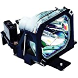 Electrified ELPLP07 Replacement Lamp With Housing For Epson Projectors