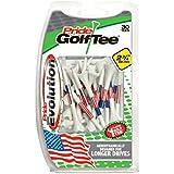 """Pride Golf Tee Evolution Golf Tees (Pack Of 30), 2 3/4"""", American Flag"""