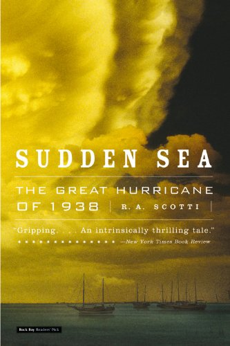 Cover:  Sudden Sea: The Great Hurricane of 1938