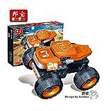 Ban Bao Turbo Power Monster Truck Building Set