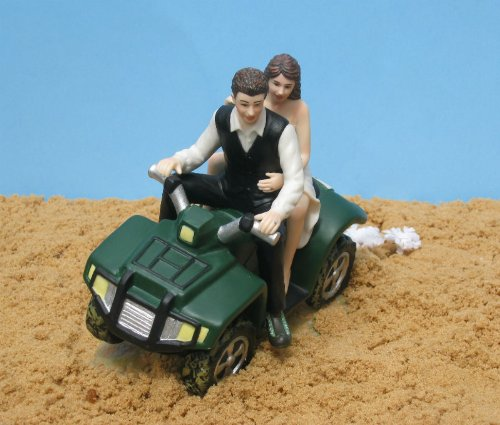 4 wheeler wedding cake toppers new atv camo wedding cake topper ebay 10428