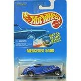 #164 Mercedes 540K 5-spoke Wheels Collectible Collector Car Mattel Hot Wheels