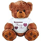 Roxanne, Will You Marry Me?: Medium Plush Teddy Bear