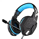 Foxnovo EACH B3505 Wifi Bluetooth Stereo Gaming Headset With Mic For IPad Black Orange Blue