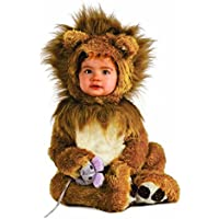 Rubie S Costume Infant Noah Ark Lion Cub Romper, Brown/Beige, 6-12 Months