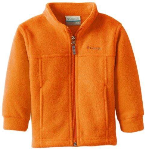 Columbia Big Boys' Steens MT II Fleece Jacket, Valencia, X-L