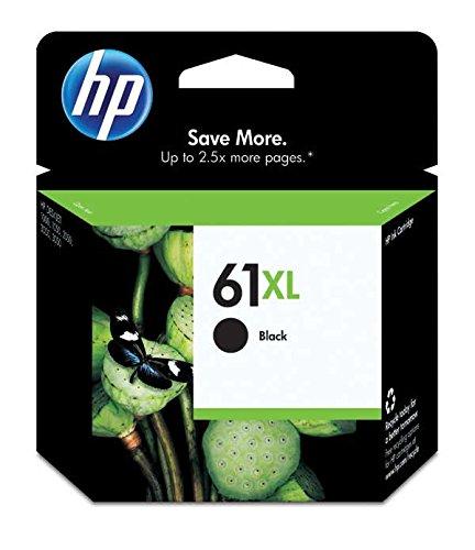 HP 61XL Black Original Inkjet Cartridge CH563W in Factory Se