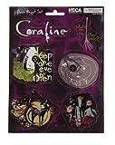 Coraline 6 piece Magnet Sheet Keep One Eye Open