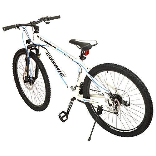 26643d5ff8f Cosmic Trium Men's 21 Speed Gear Bicycle (27.5 Inch, White) Best ...