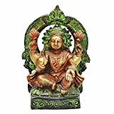 Indian Arts Shop Laksmi In Antique Finish Brass (6.86 Cm X 8.13 Cm X 17.27 Cm, )
