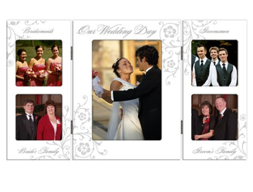 Malden Wedding Storyboard Frame with 5-Openings, 1- 5
