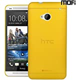MOFI Air Skin Case For HTC One 801E Case With Matte Finish Anti Slip Matte Surface Back Cover Case For HTC One 801E - Yellow