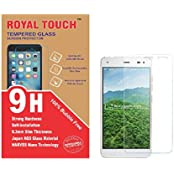 Royal Touch ™ LYF Earth 1 Tempered Glass Screen Protector 100% Bubble Free Full Size Cover Japanese AGC Glass