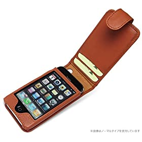 Piel Frama Apple iPhone 3G Magnetic Closure Leather Case (Ostrich)