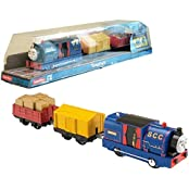 "Fisher Price Year 2014 Thomas And Friends Trackmaster As Seen On Dvd "" Tale Of The Brave"" Enhanced Motorized Railway..."