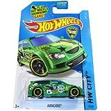 Mattel Hot Wheels - 2014 Hw City 19/250 - Hw Goal - Audacious (Green)