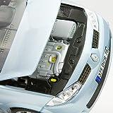 1/18 die-cast miniature cars Renault Megane Spall metallic light blue (japan import)
