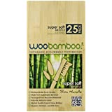 Woobamboo Slim Toothbrush, Super Soft ,(Pack Of 25)