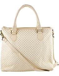Saavi International White Reusable Shopper Bag