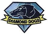 Fox Hound Diamond Dogs Metal Gear Solid Big Boss Snake MGS Patch