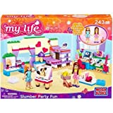 Mega Bloks My Life As Slumber Party Play Set