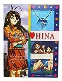 Love Hina Memorial Cards and Replica Naru's Pendant