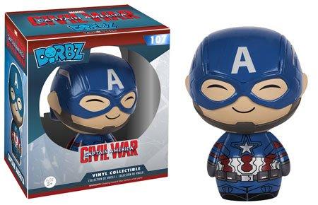 Funko Dorbz: Captain America 3: Civil War Action Figure - Captain America