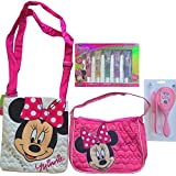 Minnie Mouse Girls Toys Gift Set Includes Minnie Mouse Purses And Minnie Mouse Lip Gloss Set With Minnie Mouse...