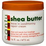 Cantu Shea Butter Leave In Conditioning Repair Cream 16 Ounce (Pack Of 2) - B005IUGRBI