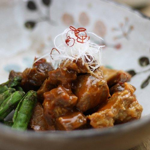 牛たんと牛赤身すじのピリ辛トロ角煮[3パックセット] 焼肉 バーベキューに(父の日ギフトに、贈り物に)