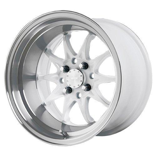 Verde V26 Boost 15×9 4×100/4×114.3 +0mm White Wheel Rim