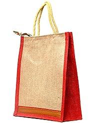 Multi-purpose Jute Carry Bag/lunch Bag/shopping Bag - B01LXHZUC2