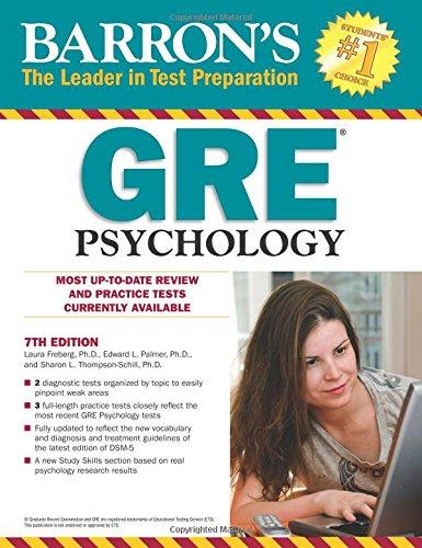 Gre Psychology Book