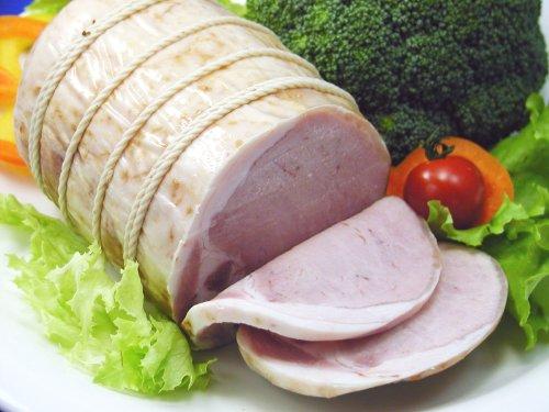ロースハム[最高級国産豚肉、鹿野ファームとろけるロースハム](お手頃500g)