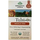 Organic India Tulsi Tea Chai Massala, 18 Count