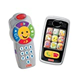 Fisher-Price Laugh And Learn Remote And Smilin Smartphone Bundle