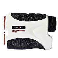 Target® 400M White Portable Golf Laser Rangefinder W/ Pin Sensor Hunting Golf Range Finder Binocular 6X Magnification...