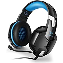 KOTION EACH G1200 Gaming Headset 3.5mm Game Headphone Earphone Headband With Mic Stereo Bass For PS4 PC Computer...