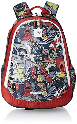 22cf468661ba Wildcraft Polyester 39 Ltrs Red School Backpack (Wiki 6 Streets 4 ...