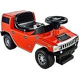 Kid Motorz Hummer H2 Foot To Floor Ride On Red