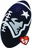 Ty Beanie Ballz NFL RZ New England Patriots Football Plush