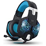 VersionTech Professional Stereo Gaming Headset With Microphone For Mac PC Computer(Incompatible With PS4 PS3 Xbox...