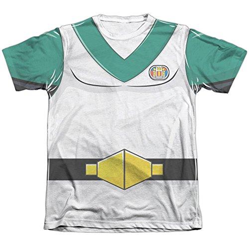 Voltron Pidge Costume Men's T-Shirt (Printed Front Back Print)