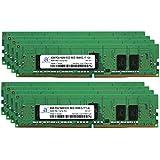Adamanta 64GB 8x8GB Memory Upgrade For Servers DDR4 2400MHZ PC4-19200 ECC Registered Chip 1Rx8 CL17 1.2V