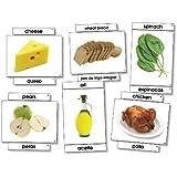 Food Bilingual Language Cards