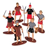 McToy - ROMAN EMPIRE SOLDIERS, Assorted Weapons & Positions - 12x