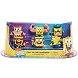 Spongebob Deluxe Collectible Figure Pack Hall Of Fame