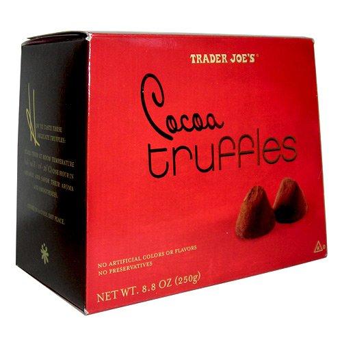 Trader Joe's Cocoa Truffles....8.8 Oz. Box
