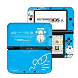 Doraemon Sky Blue Limited Edition VINYL SKIN STICKER DECAL COVER for Nintendo 3DS XL / LL Console System